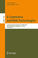 Proceedings of the 15th International Conference, EC-Web 2014